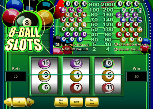 8 ball slot review