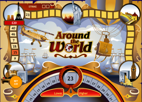 around the world screenshot