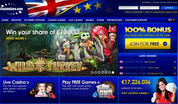 european online casino list