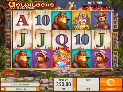 Play Goldilocks and the Wild Bears at Casumo Casino