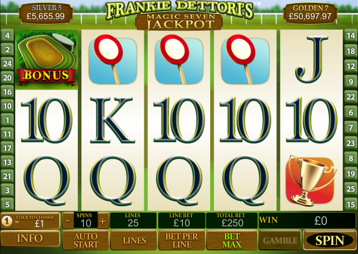 Frankie Dettoris Magic 7 Jackpot Slot Machine Online ᐈ Playtech™ Casino Slots