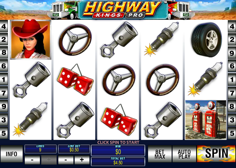 Play Highway Kings Online Slots at Casino.com UK
