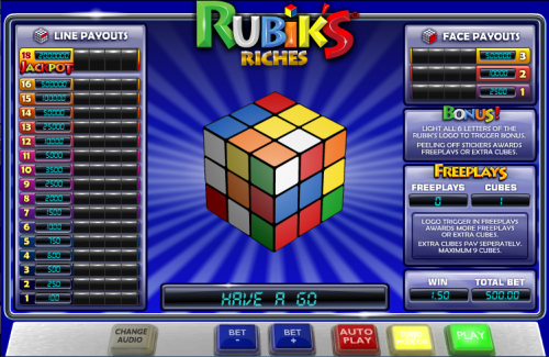 rubiks riches screenshot