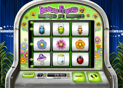beetle frenzy slot review