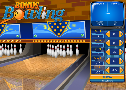 bonus bowling screenshot