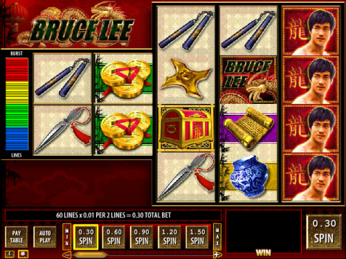 Bruce Lee Slots Free Play & Real Money Casinos