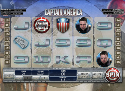 Captain America Slot Game - Play Free Marvel Slots Online