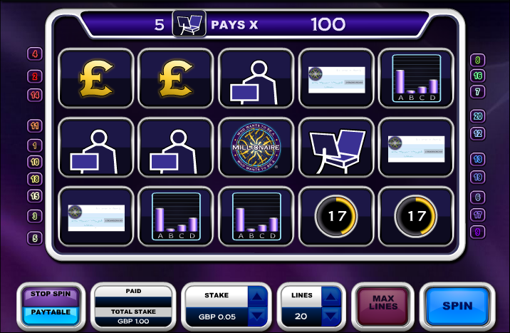 Play Who Wants to Be a Millionaire Online Slots at Casino.com Canada