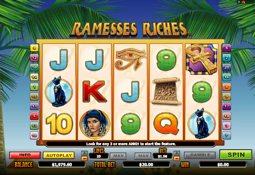 The Pyramid of the Ramesses Slot Machine Online ᐈ Playtech™ Casino Slots
