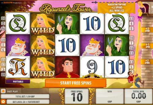 Rapunzels Tower Slot Machine - Play Free Casino Slot Games