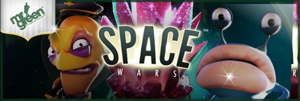 Net Entertainment's latest release - Space Wars