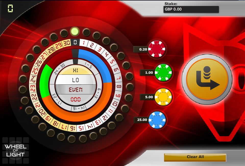 Play Wheel of Light Arcade Game at Casino.com UK