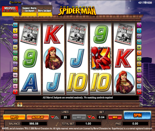 SuperHeroes Slot - Play Real Casino Slots Online