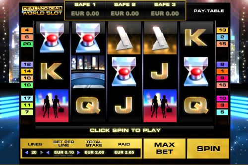 deal or no deal world slot