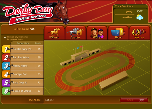 derby day horse racing screenshot