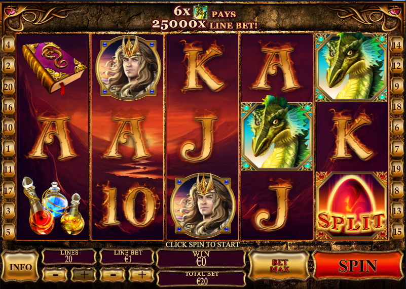 Play Dragon Kingdom Slots Online at Casino.com South Africa