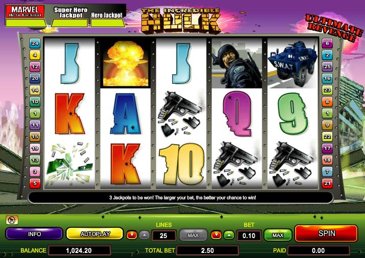 online slots hulk