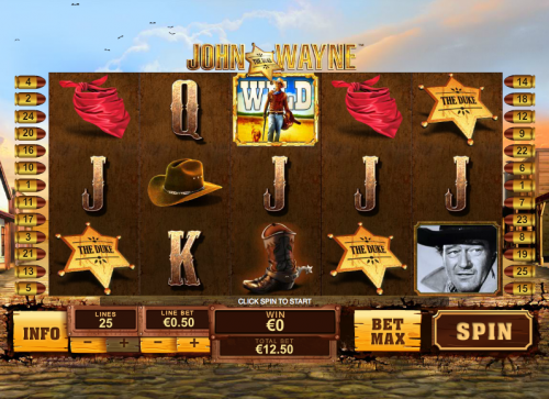 Play John Wayne Online Slots at Casino.com UK