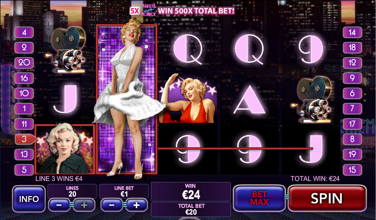 Marilyn Monroe Slot Machine Online ᐈ Playtech™ Casino Slots