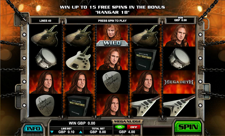 megadeth screenshot