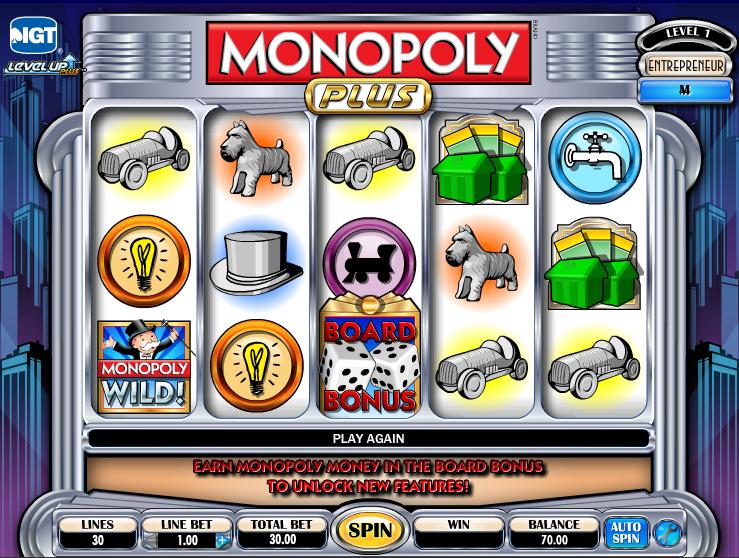 Monopoly Plus Slots