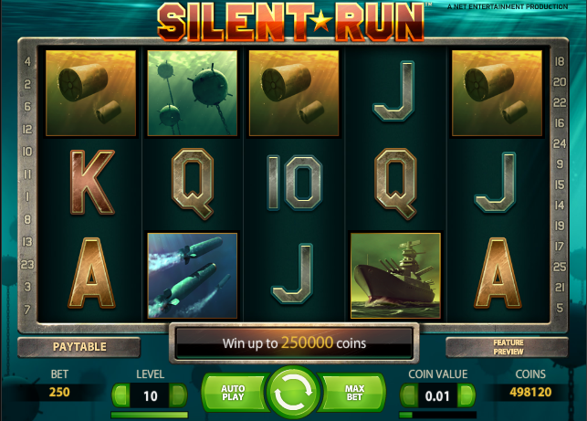 Silent Run Slot Machine - Play Online & Win Real Money