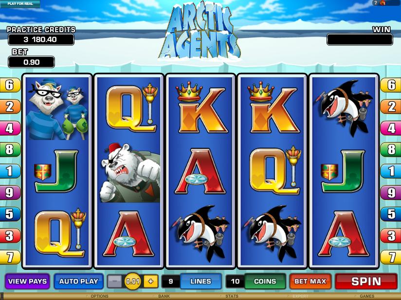 arctic agents slot