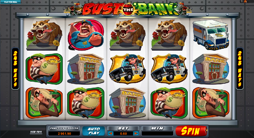 nust the bank slot