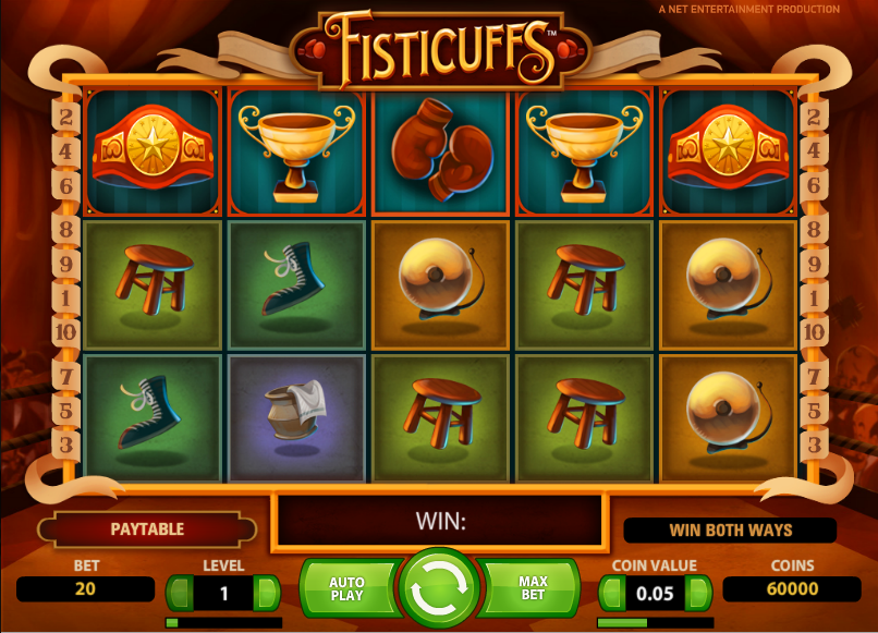 Fisticuffs - 100% Free Online Video Slot