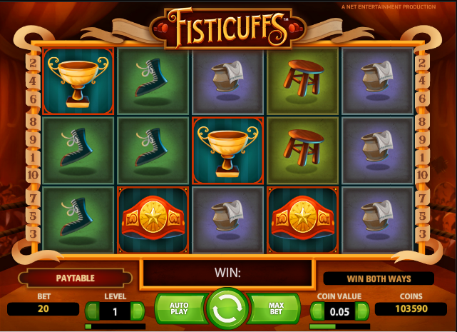 fisticuffs slots review online slots guru