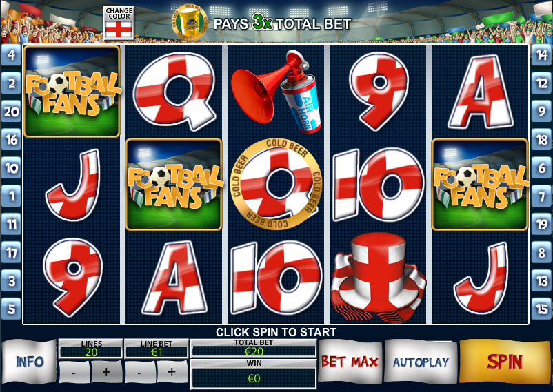 Play Football Fans Online Slots at Casino.com UK