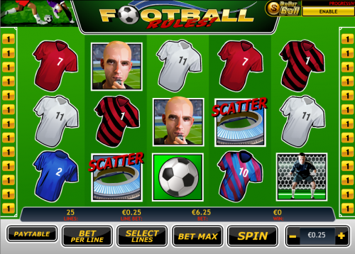 Football Rules Slot Machine Online ᐈ Playtech™ Casino Slots