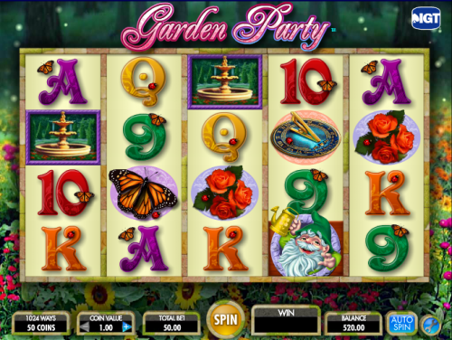 garden party screenshot