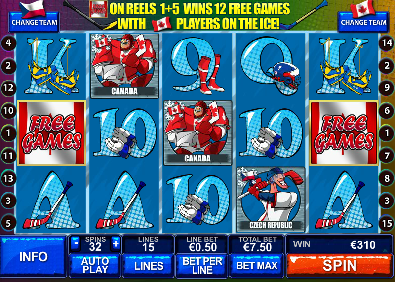 Play Ice Hockey Online Slots at Casino.com UK