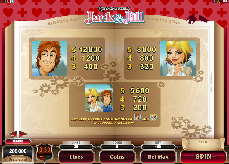 Jack And Jill Slots - Play Free Casino Slots Online