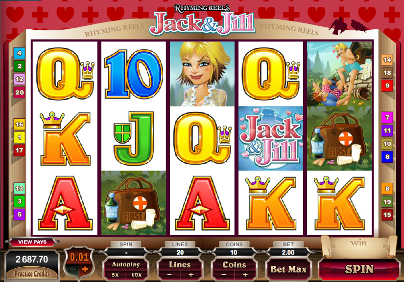 Jack And Jill™ Slot Machine Game to Play Free in Microgamings Online Casinos