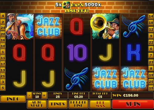 jazz club slot