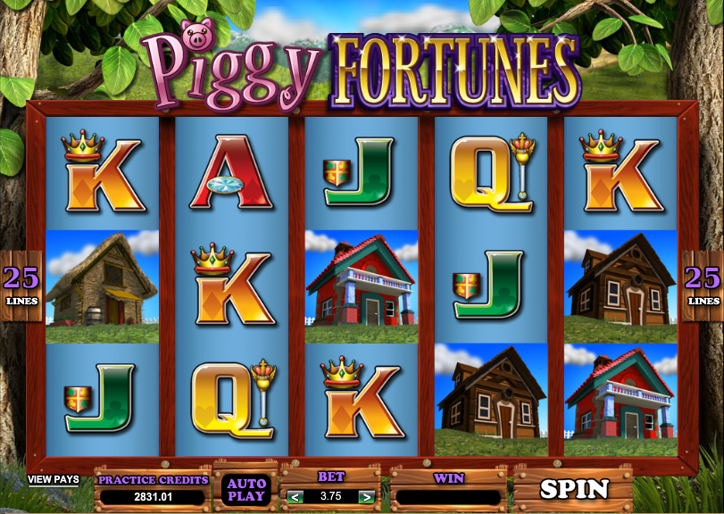 Piggy Fortunes Slot Machine Review & Free Online Demo Game