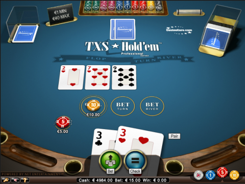txs hold'em poker screenshot