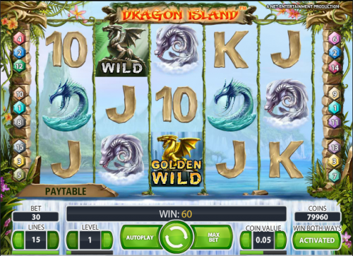 online casino poker dragon island