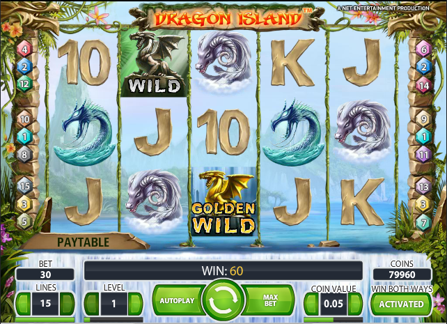 online casino games dragon island