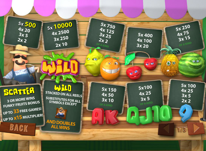 Play Funky Fruits Farm Online Slots at Casino.com