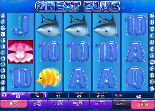 great blue screenshot
