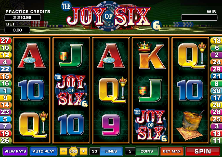 the joy of six screenshot