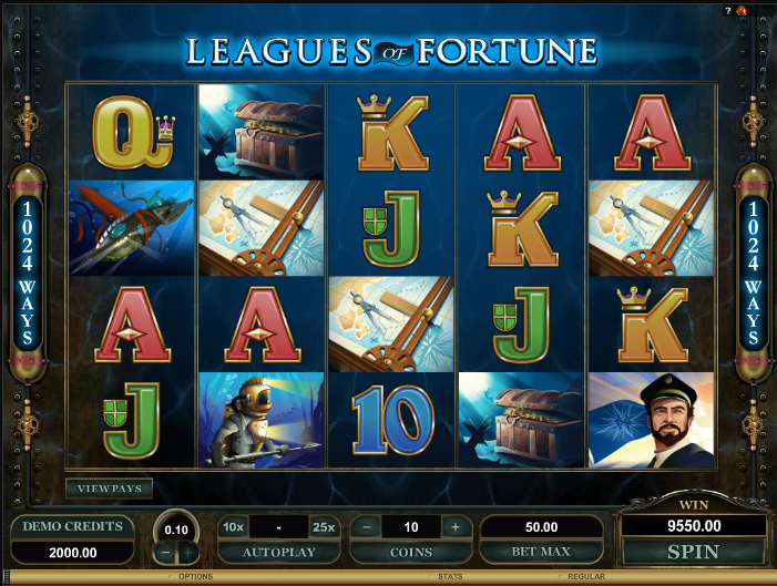 leagues of fortune screenshot