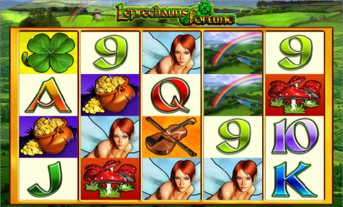leprechaun's fortune screenshot