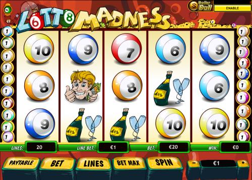 lotto madness screenshot