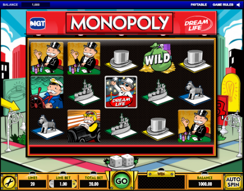 monopoly dream life screenshot