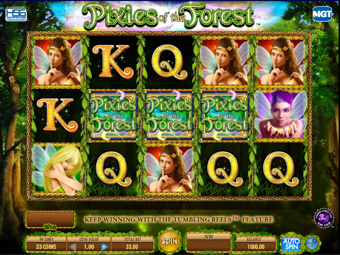 In The Forest Slot Machine - Review and Free Online Game
