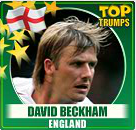 top trumps david backham